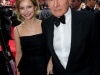 Harrison Ford and Calista Flockhart attend the 69th Annual Golden Globes Awards at the Beverly Hilton in Beverly Hills, CA on Sunday, January 15, 2012.
