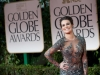 Lea Michele attends the 69th Annual Golden Globes Awards at the Beverly Hilton in Beverly Hills, CA on Sunday, January 15, 2012.
