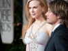 Nicole Kidman and Keith Urban attend the 69th Annual Golden Globes Awards at the Beverly Hilton in Beverly Hills, CA on Sunday, January 15, 2012.