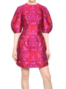 Get Inspired: Alexander McQueen Baroque bell shape styling blasts brilliant color
