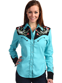 Go for the real thing in this Scully Western Shirt- more colors