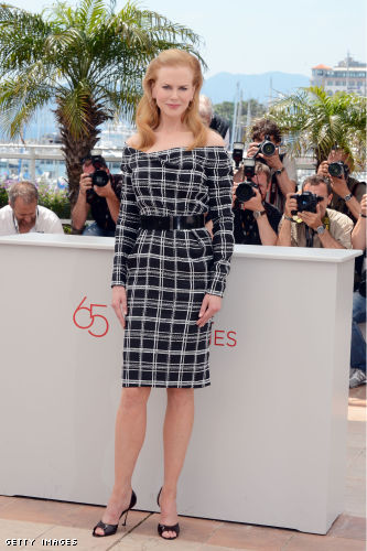 "A shoe for all days: Nicole Kidman repeated her pumps at the ""Hemingway & Gellhorn"" photocall  at the Cannes Film Festival"