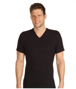 Spanx for Men Cotton Compression V-Neck