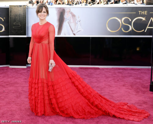 Sally Field is stunning, age-appropriate, and a red carpet winner