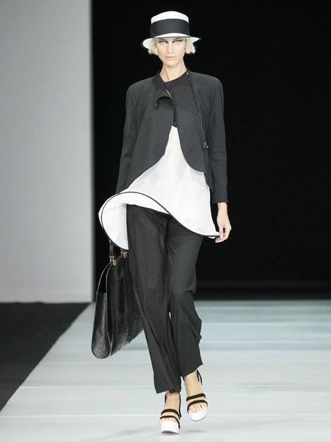 Emporio Armani Spring 2012 Fashion Show