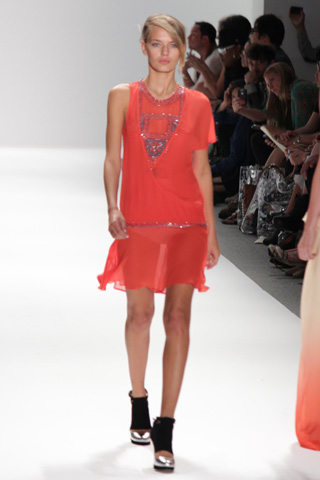 Charlotte Ronson spring 2012 runway