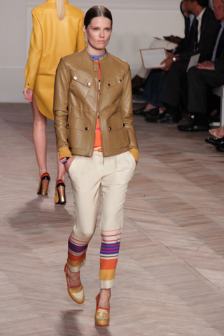 Tommy Hilfiger spring 2012 fashion show