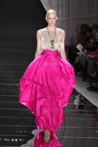 Naheem Kahn Spring 2012 Fashion Show