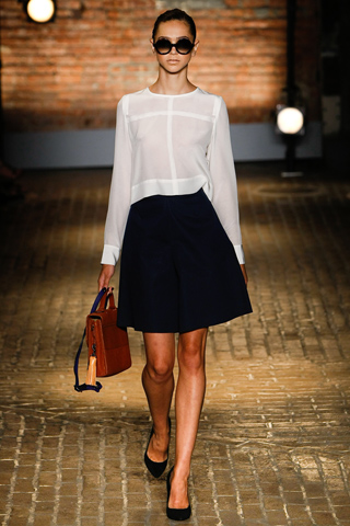 Yigal Azrouel Spring 2012 Fashion Show