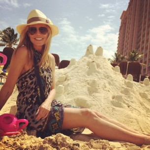 Here's how YOU can look like Heidi Klum on the beach!