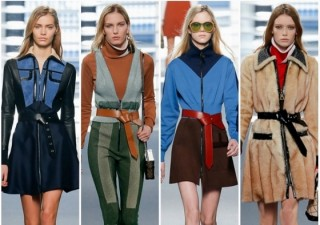 Paris Fashion Week Trend Spotlight: A mod world at Louis Vuitton and Miu Miu  Fall 2014