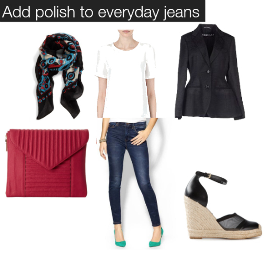 addm polish to everyday jeans