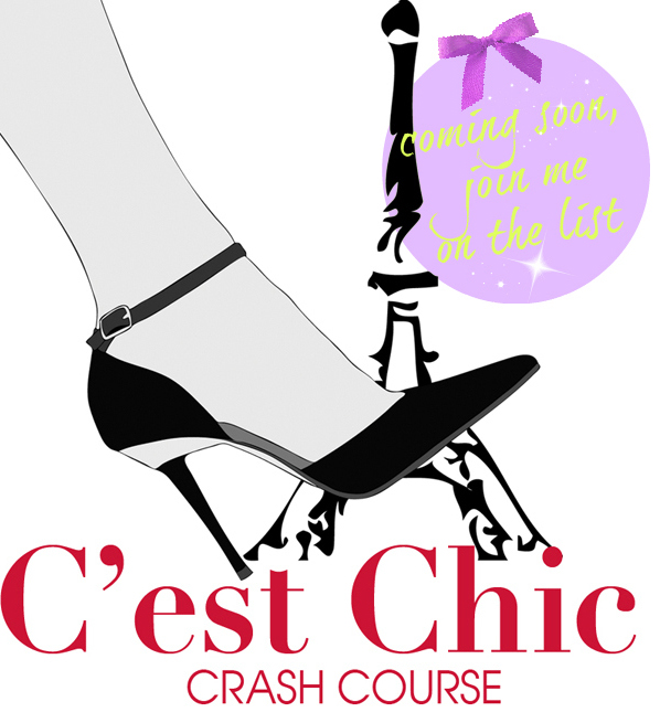 How to look chic- C'est Chic Crash Course