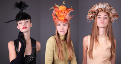 Laurence Bossion Spring Summer 2014 hats collection