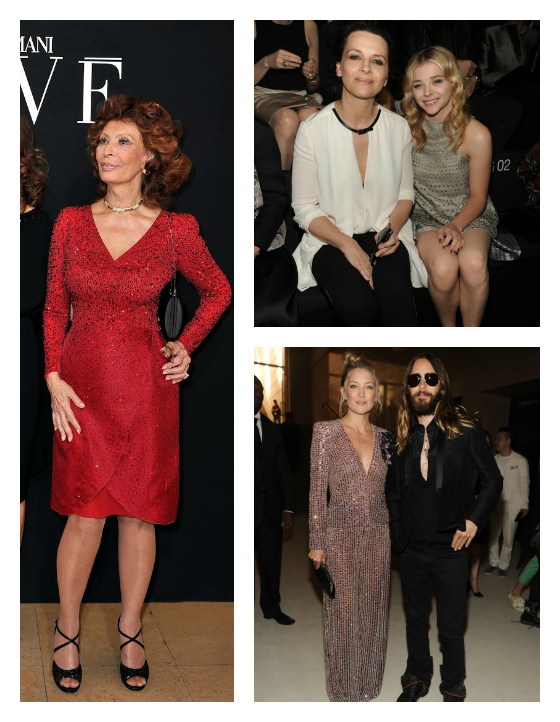 Sophia Loren, Juliette Binoche, Chloe Grace Moretz, Kate Husdon, and Jared Leto