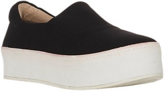 Comfy slip-on platform sneaks for walking