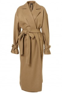 Topshop wool maxi coat by Boutique