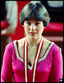 As America's best hope for an Olympic figure-skating medal at the 1976 Innsbruck Games, the 19-year-old three-time national champ performed masterfully and remains an icon to this day. Photo via Sports Illustrated for Women
