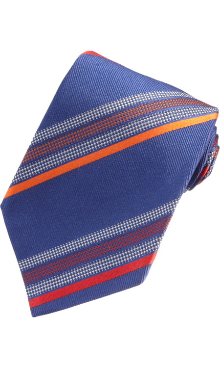 ETRO Textured Stripes Tie $165 NOW $79 52% OFF