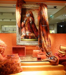 Hermes Paris Holiday Windows 2012