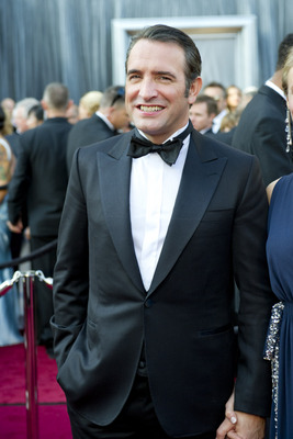 Jean Dujardin, Oscar Winner for Performance by an Actor in a Leading Role, arrives for the 84th Annual Academy Awards