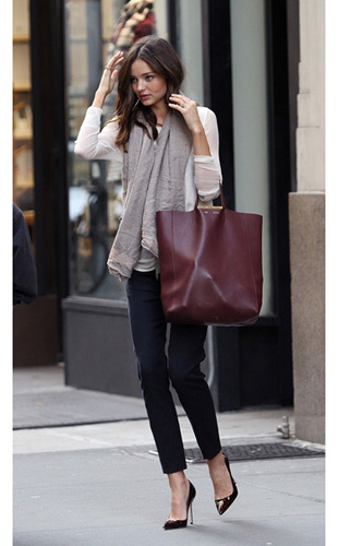 Get The Look- Miranda Kerr's Polished Street Style