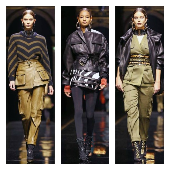 Balmain-Fall-2014-Cargo-Pocket-Safari-Trend-runway