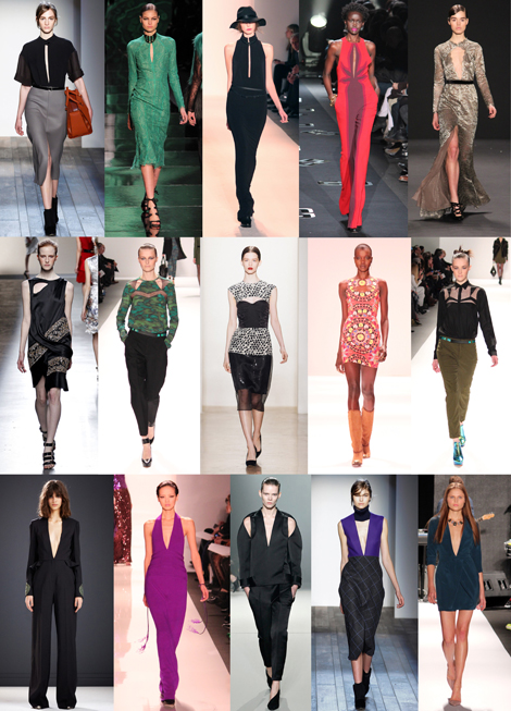 New York Fashion Week Trends From Fall 2013: CHEST PIECES