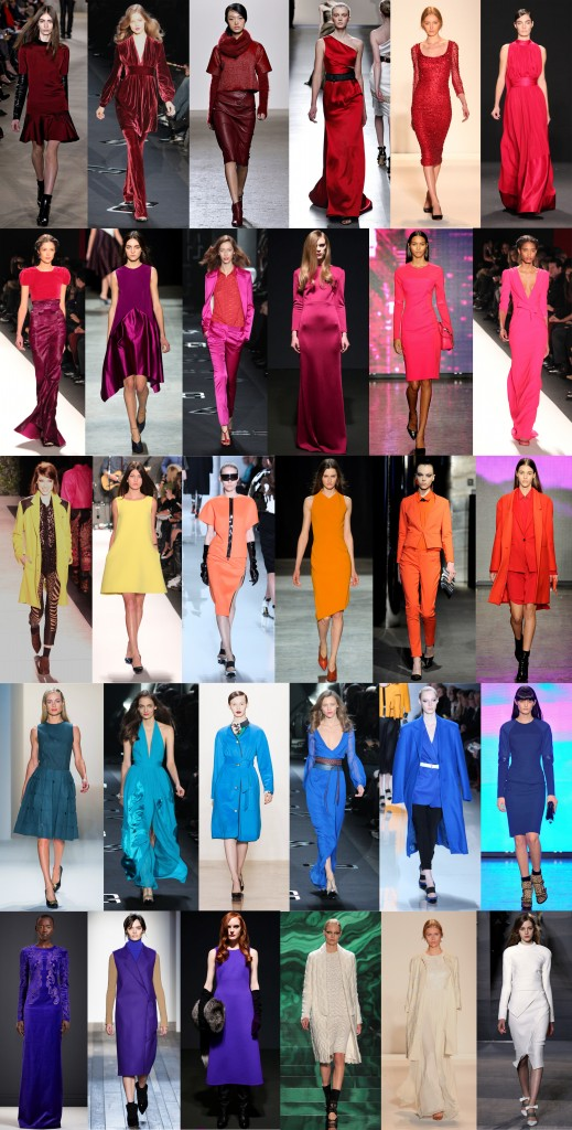 New York Fashion Week Trends From Fall 2013: Color