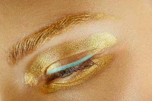 Makeup at Dior S/S 2014