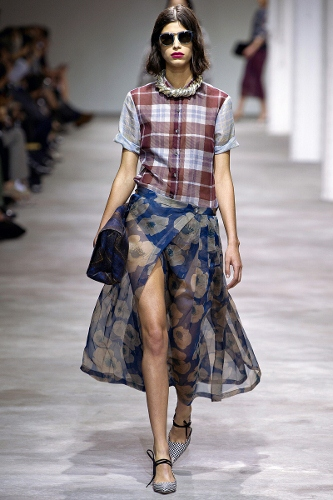 Dries Van Noten went grunge for Spring 2013