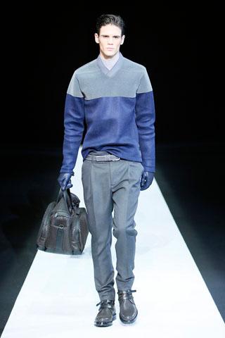Emporio Armani Menswear Fall 2013
