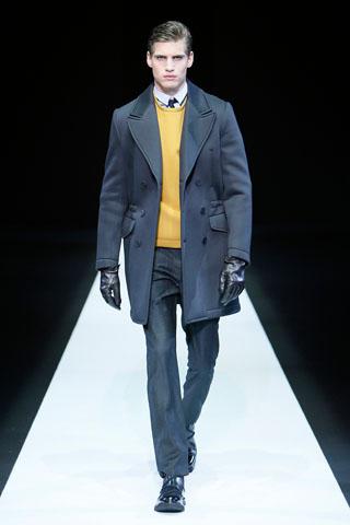 Emporio Armani Menswear 2013