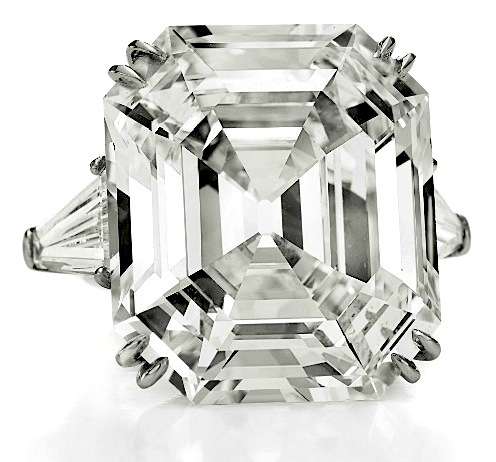 """The Elizabeth Taylor Diamond""  is a 33.19 carat, D color, VS1 clarity diamond that was previously known as the Krupp Diamond."