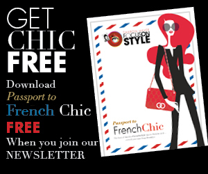 "GET CHIC FREE: ""Passport to French Chic"" ibook"