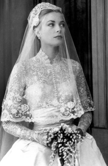 Grace Kelly looks as elegant today as she did on her wedding day in 1956.