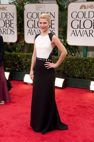 Claire Danes in J. Mendel (front)
