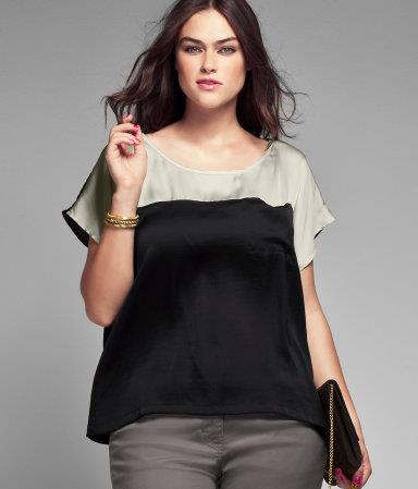H&M top plus size
