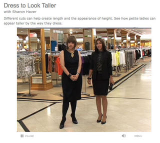 How to dress to look taller video