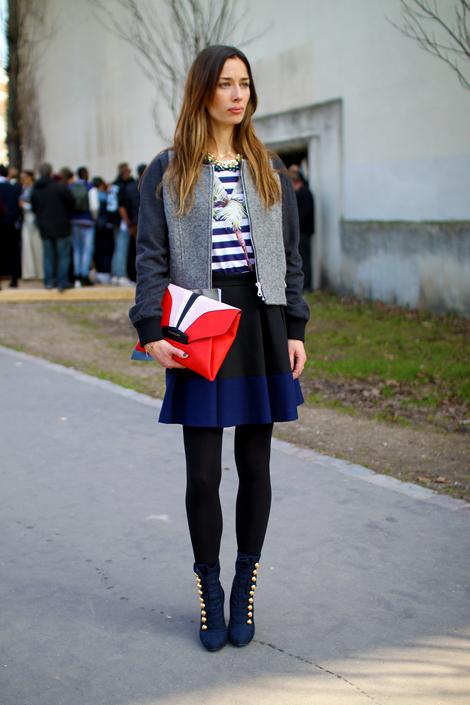 Paris Street Style Snap