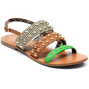 Kari Studded Leather Sandal