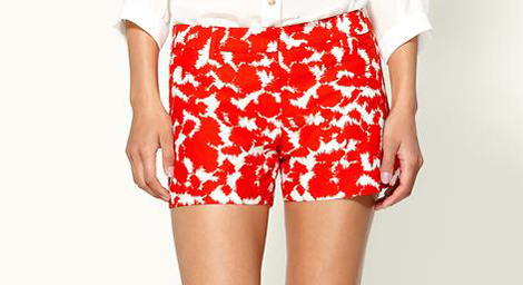 MIlly Dickies Batik Print Shorts