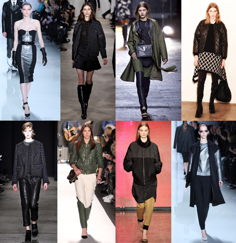 New York Fashion Week Trends: QUILTING
