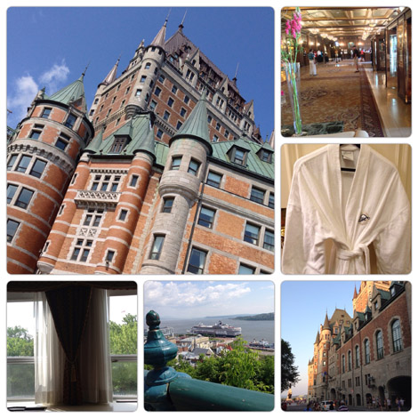 The Fairmont Le Château Frontenac is said to be one of the most photographed hotels in the world