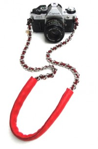 Sarah Frances Kuhn Super Deluxe Silver Lining Camera Chain