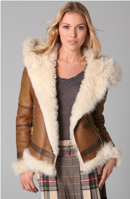 Rag & Bone Shoreditch Shearling Jacket