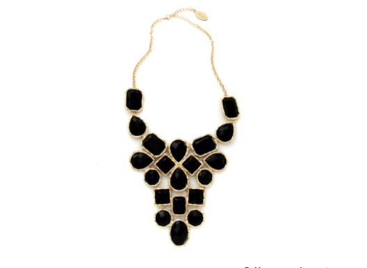 Multi-Stone Statement Necklace by Adia Kibur at OpenSky