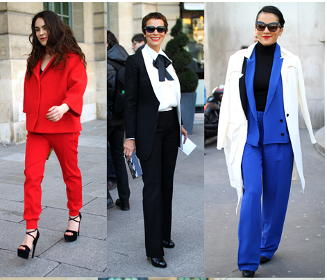 Trend Report: 6 Modern Pant Suits that are ageless & chic, so why not?!