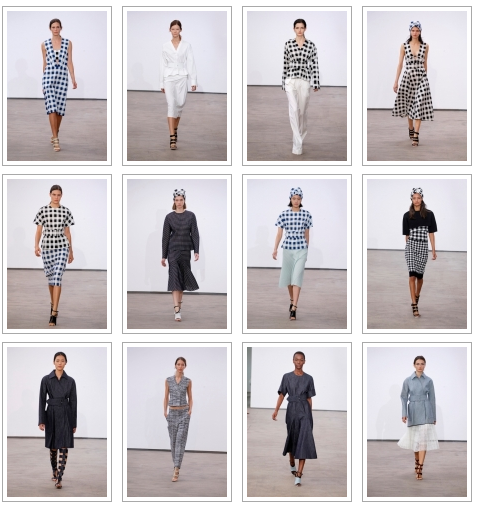Age appropriate style from the runway- Derek Lam spring 2014, NYFW