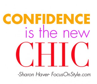 Abundant Style Mantras: Confidence is the new chic!